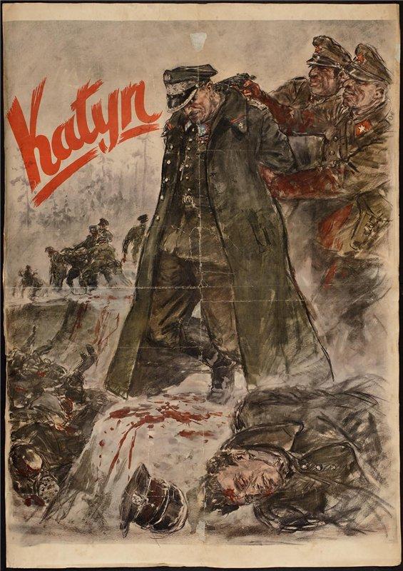 Плакат Геббельса
