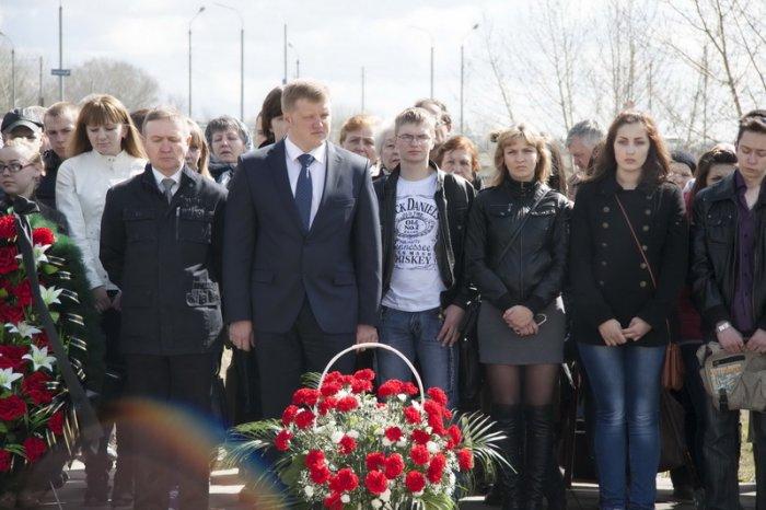 Митинг памяти аварии на Чернобыльской АЭС-2