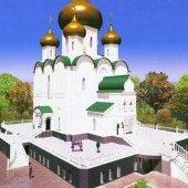 Проект нового храма в Зашекснинском районе