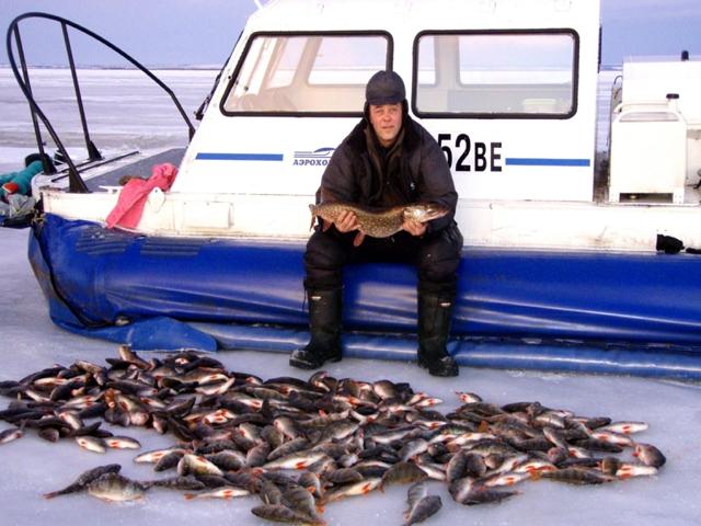 Верхняя Рыбинка - зимний улов