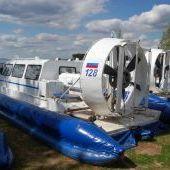 Верхняя Рыбинка - судно на воздушной подушке