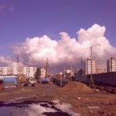 Тучка над городом