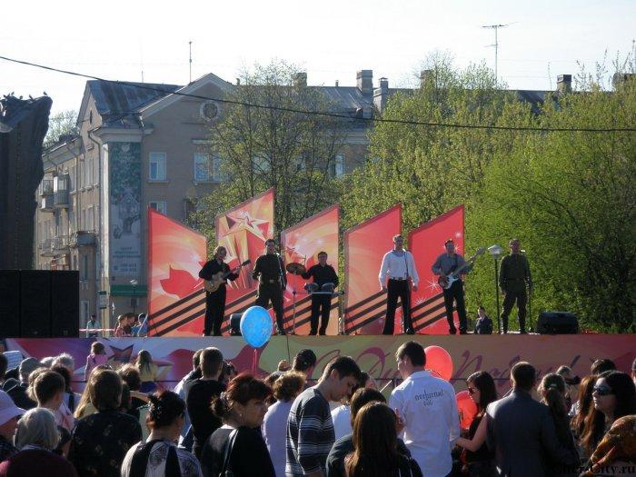 Выступления на День Победы, 9 мая 2009 г.