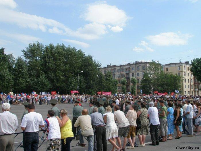 Марш поколений металлургов, площадь металлургов