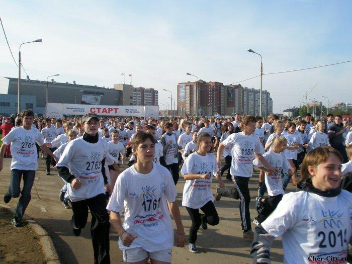 Кросс нации-2010, школьники