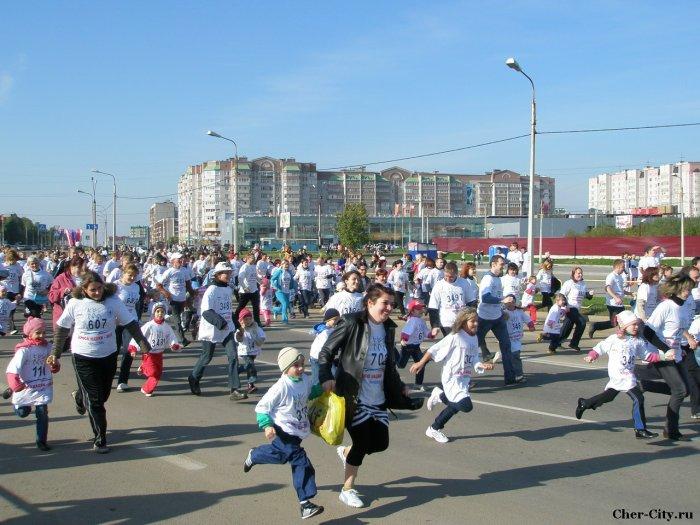 Кросс нации-2010, бежим всей семьёй