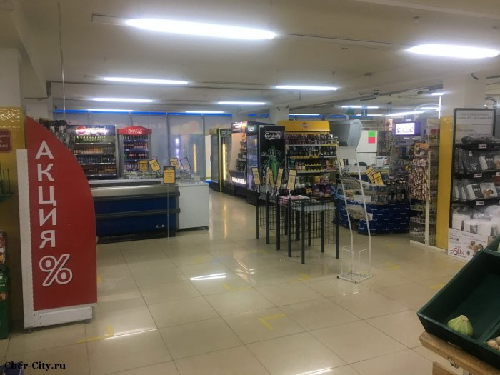 Продажа здания в Череповецком районе, супермаркет