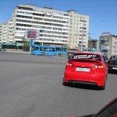 Автопробег 9 мая 2011, Красноармейская площадь