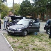 ДТП на перекрёстке улиц Труда и Коммунистов, 12.08.2008