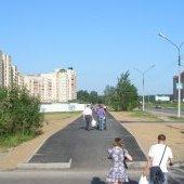 Новый тротуар на Шекснинском проспекте