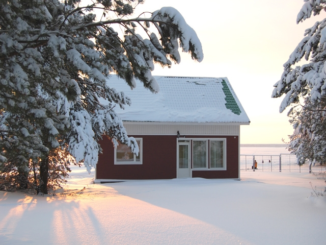 Фото база Рыбинка Новый год 2010