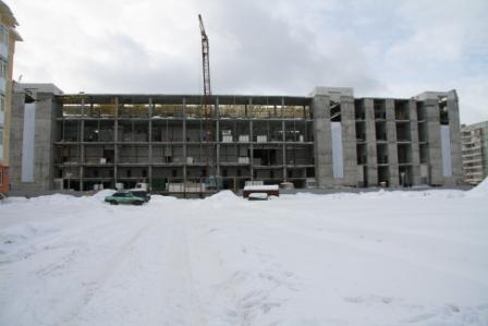 """Строительство ТРЦ """"Июнь"""" апрель 2009 г."""
