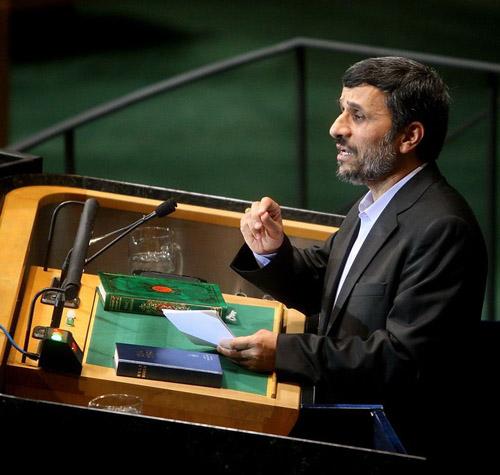 Президент Ирара Махмуд Ахмадинежад