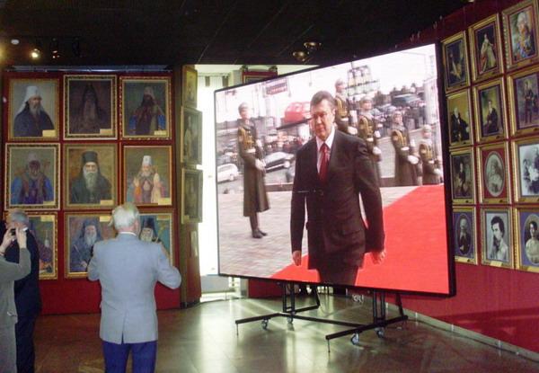 Инаугурация Януковича, фото в Украинском доме