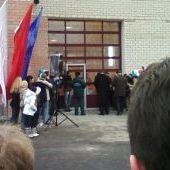 Открытие пожарного депо на Рыбинской
