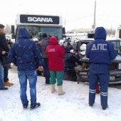 ДТП с автобусом 17.01.2014-2