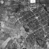 Череповец на авиасъемке Luftwaffe, 1942 г. - Центр