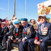 Парад Победы - 2016, ветераны
