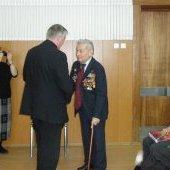 Награждение ветеранов, Лапшин Г.П.